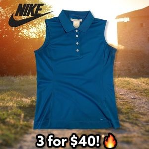 Nike Women's Vintage Sleeveless Polo Golf Shirt